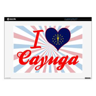 Amo el Cayuga Indiana Skins Para 38,1cm Portátil