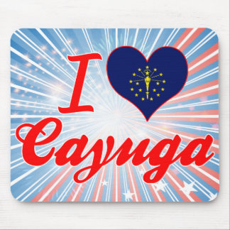 Amo el Cayuga, Indiana Tapete De Ratones