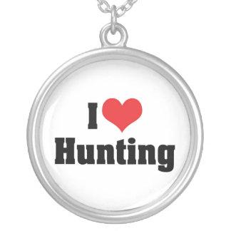 Amo el cazar colgante redondo