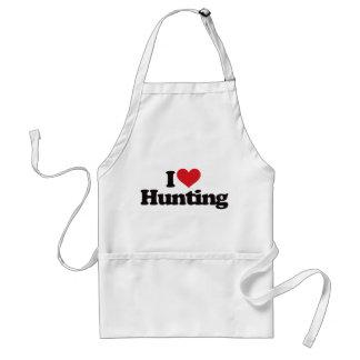 Amo el cazar delantal