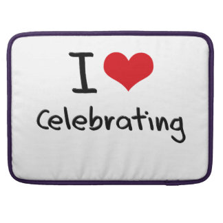 Amo el celebrar fundas macbook pro