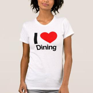 amo el cenar camisetas