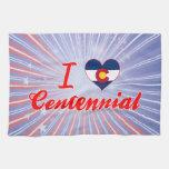 Amo el Centennial, Colorado Toallas