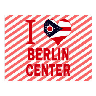 Amo el centro de Berlín, Ohio Postal