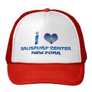 Amo el centro de Salisbury, Nueva York Gorra