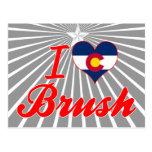 Amo el cepillo, Colorado Postales