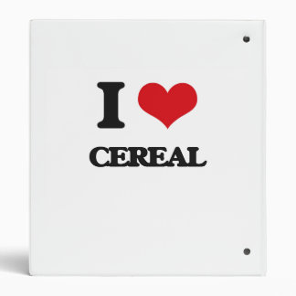 Amo el cereal