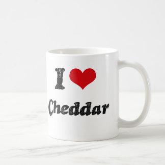 Amo el Cheddar Taza De Café