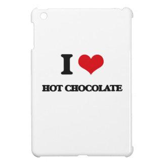 Amo el chocolate caliente