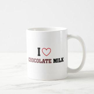 Amo el chocolate caliente taza