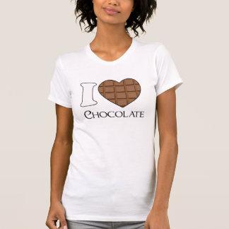 Amo el chocolate - camisa dulce para los chicas