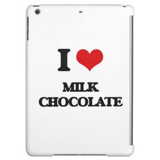 Amo el chocolate con leche