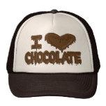 Amo el chocolate gorro