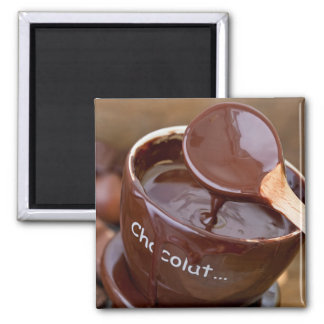 Amo el chocolate imán para frigorifico