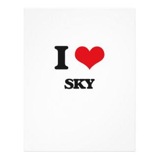 """Amo el cielo folleto 8.5"""" x 11"""""""