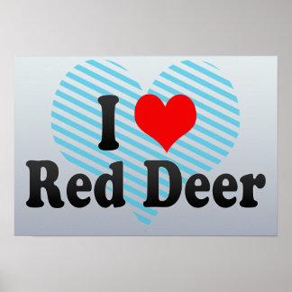 Amo el ciervo común, Canadá. Amo el ciervo común,  Poster