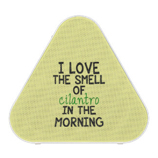 Amo el Cilantro - fondo amarillo Altavoz Bluetooth