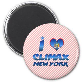 Amo el clímax, Nueva York Imán Para Frigorifico