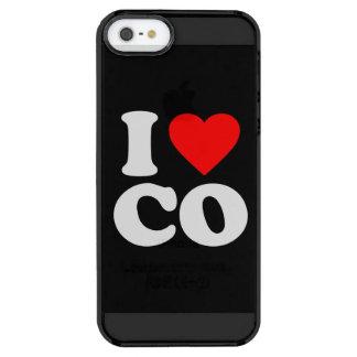 AMO EL CO FUNDA CLEAR PARA iPhone SE/5/5s