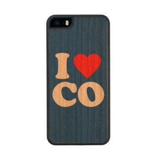 AMO EL CO FUNDA DE CEREZO CARVED® PARA iPhone 5