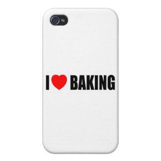 Amo el cocer iPhone 4 carcasas