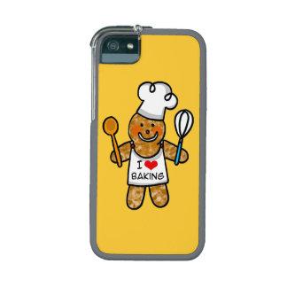 Amo el cocer (la galleta del hombre de pan de jeng