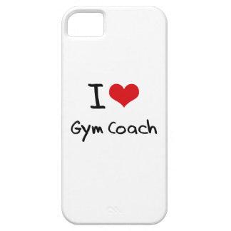 Amo el coche del gimnasio iPhone 5 fundas