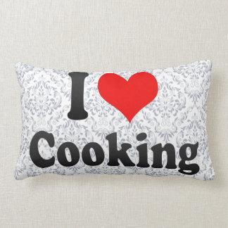 Amo el cocinar almohada