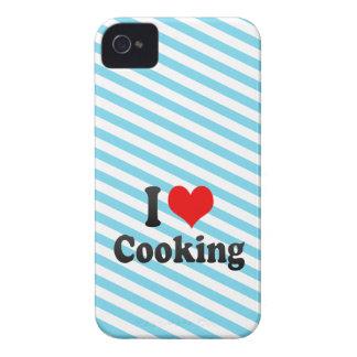 Amo el cocinar iPhone 4 Case-Mate funda