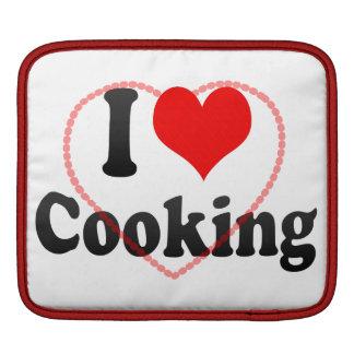 Amo el cocinar funda para iPads