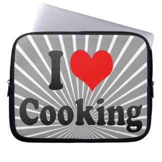 Amo el cocinar funda ordendadores