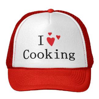 Amo el cocinar gorra