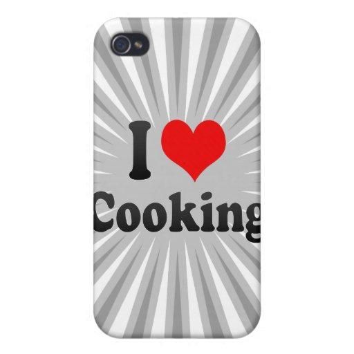 Amo el cocinar iPhone 4 cobertura