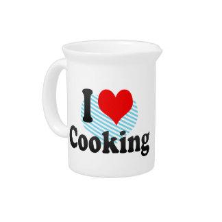 Amo el cocinar jarra