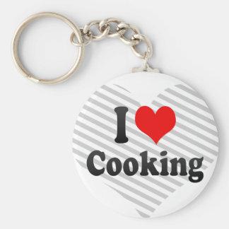 Amo el cocinar llaveros