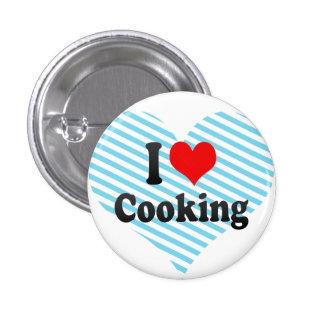 Amo el cocinar pin