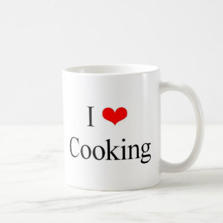 Amo el cocinar taza
