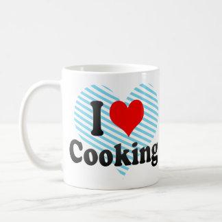 Amo el cocinar taza de café