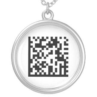 Amo el código de Ucrania QR - collar