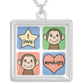 Amo el collar de los monos