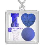 Amo el collar del baloncesto