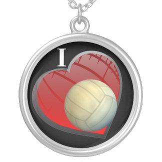 Amo el collar del voleibol