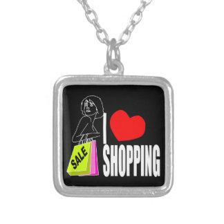 Amo el collar que hace compras