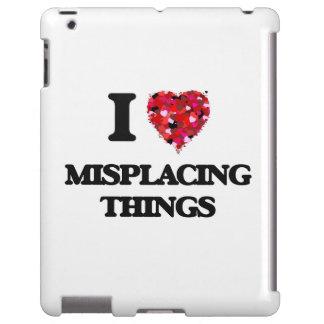 Amo el colocar mal de cosas funda para iPad