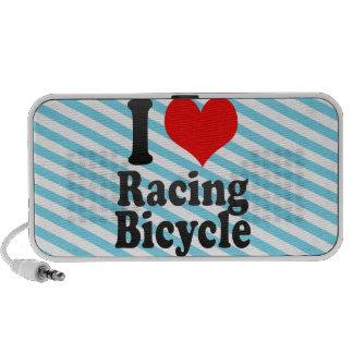 Amo el competir con de la bicicleta altavoz de viaje