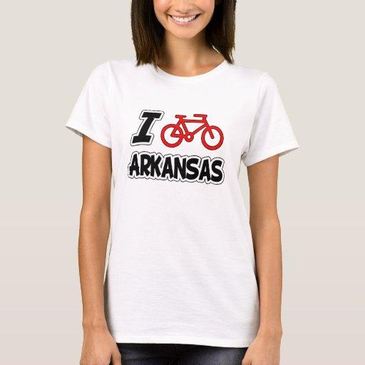 Amo el completar un ciclo de Arkansas Playera