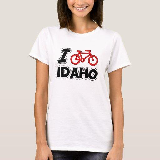 Amo el completar un ciclo de Idaho Playera