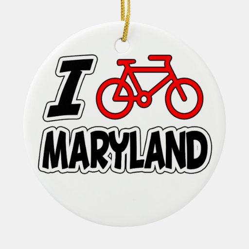 Amo el completar un ciclo de Maryland Adorno Redondo De Cerámica
