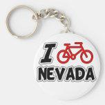 Amo el completar un ciclo de Nevada Llaveros Personalizados
