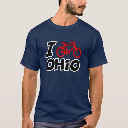 Amo el completar un ciclo de Ohio Playera